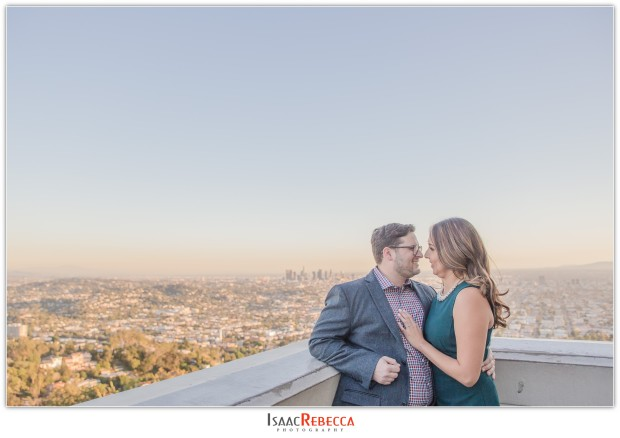 Griffith Observatory Park Engagement_0251