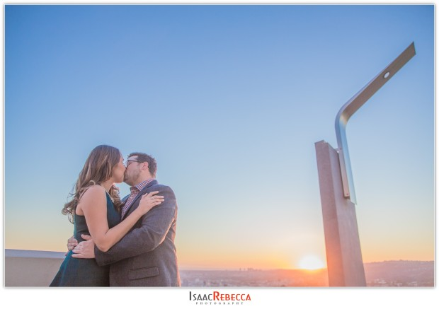 Griffith Observatory Park Engagement_0299