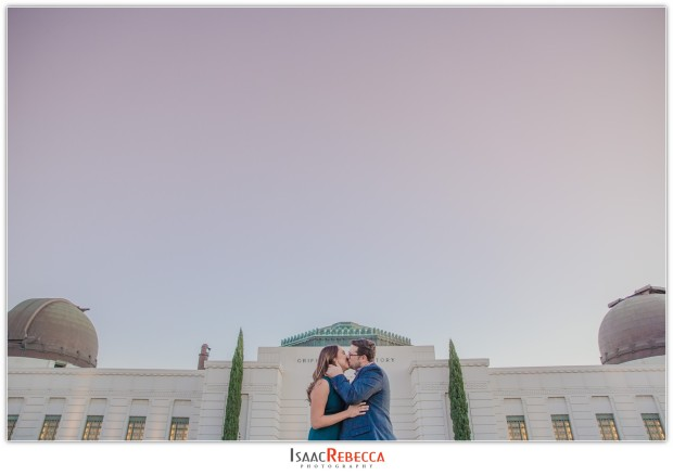 Griffith Observatory Park Engagement_0319